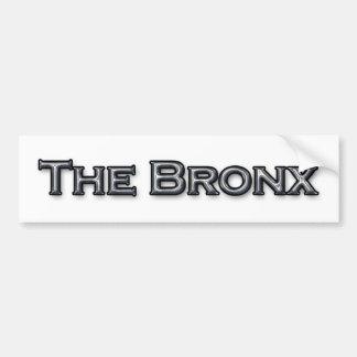 The Bronx New York Text Logo Bumper Sticker
