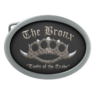 The Bronx - Spiked Brass Knuckles Belt Buckle