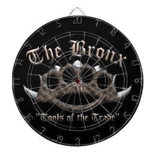 The Bronx - Spiked Brass Knuckles Dartboard