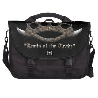 The Bronx - Spiked Brass Knuckles Laptop Bag