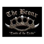 The Bronx - Spiked Brass Knuckles Postcard