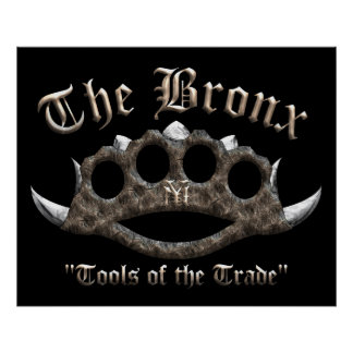 The Bronx - Spiked Brass Knuckles Posters