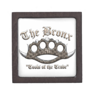 The Bronx - Spiked Brass Knuckles Premium Gift Box