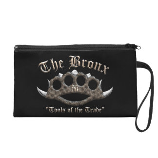 The Bronx - Spiked Brass Knuckles Wristlet Purse