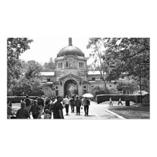 The Bronx Zoo Entrance Double-Sided Standard Business Cards (Pack Of 100)