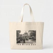 The Bronx Zoo Entrance Large Tote Bag