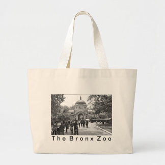 The Bronx Zoo Entrance Large Tote Bag