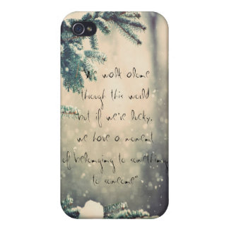 the bronze horseman quotes iPhone 4 cover