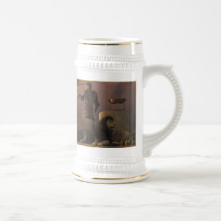 The Bronze Knight of the Isle of Lions Beer Stein