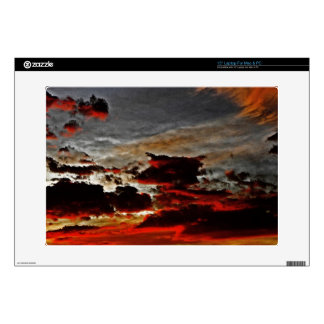 The Brooding Sky Laptop Skin
