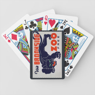 The Brookfield Zoo Bicycle Playing Cards