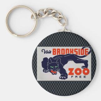 The Brookfield Zoo Keychain