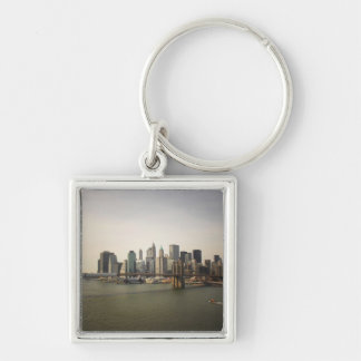 The Brooklyn Bridge and the New York City Skyline Keychain