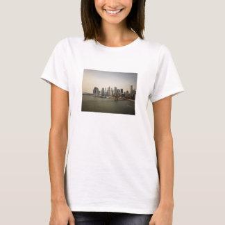 The Brooklyn Bridge and the New York City Skyline T-Shirt