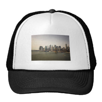 The Brooklyn Bridge and the New York City Skyline Trucker Hat