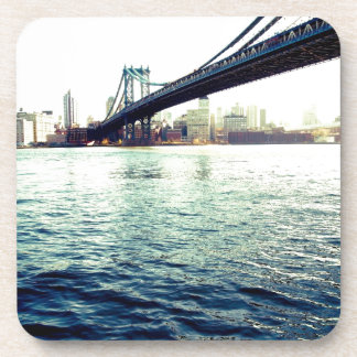 The Brooklyn Bridge Beverage Coaster