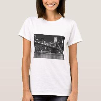 The Brooklyn Bridge - Black and White T-Shirt