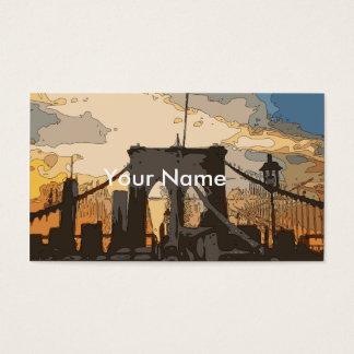 The Brooklyn Bridge Business Card