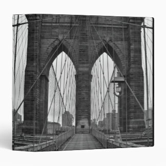 The Brooklyn Bridge in New York City Binder