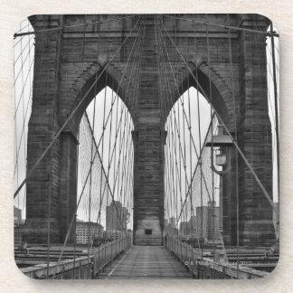 The Brooklyn Bridge in New York City Coaster