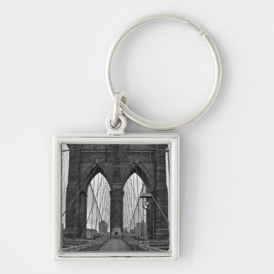 The Brooklyn Bridge in New York City Keychain