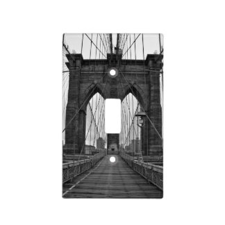 The Brooklyn Bridge in New York City Light Switch Cover