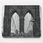 The Brooklyn Bridge in New York City Mouse Pad