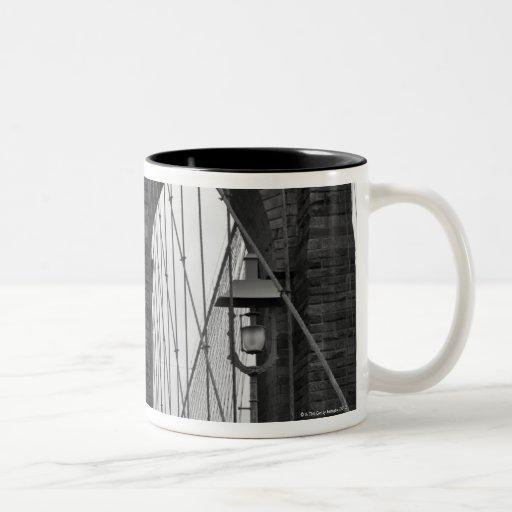 The Brooklyn Bridge in New York City Coffee Mug