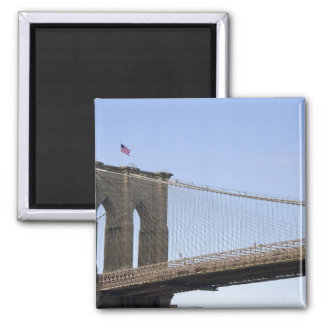 The Brooklyn Bridge in New York City, New 2 Magnet
