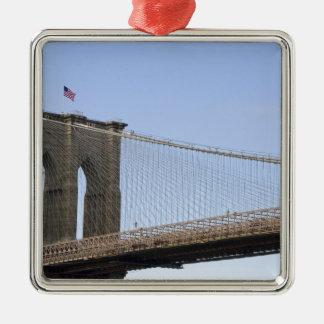 The Brooklyn Bridge in New York City, New 2 Metal Ornament