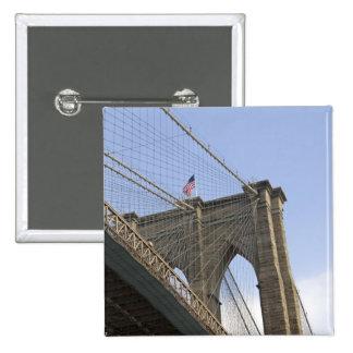 The Brooklyn Bridge in New York City, New Button