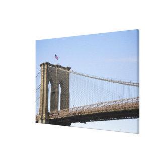 The Brooklyn Bridge in New York City, New Canvas Print