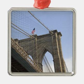 The Brooklyn Bridge in New York City, New Metal Ornament
