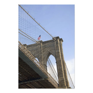 The Brooklyn Bridge in New York City, New Photo Print