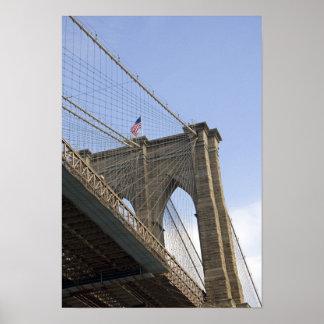 The Brooklyn Bridge in New York City, New Poster