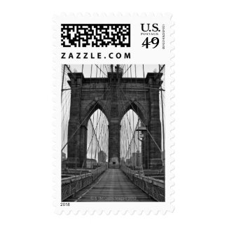 The Brooklyn Bridge in New York City Stamps