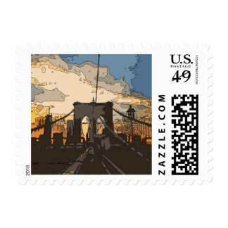 The Brooklyn Bridge Postage