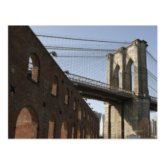 The Brooklyn Bridge Postcard