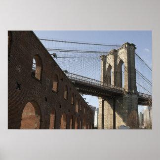 The Brooklyn Bridge Poster