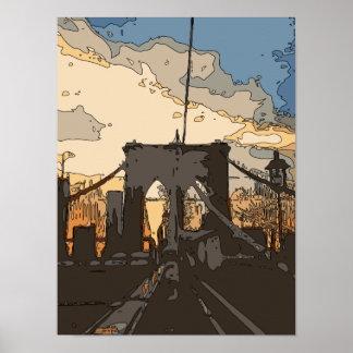 The Brooklyn Bridge Posters