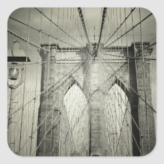 The Brooklyn Bridge Square Sticker