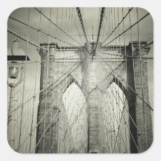 The Brooklyn Bridge Square Sticker