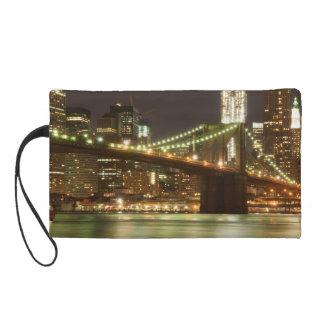 The Brooklyn Bridge Wristlet Purse