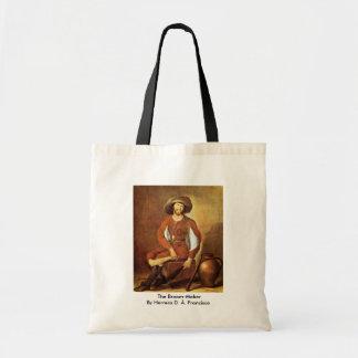 The Broom-Maker By Herrera D. Ä. Francisco Tote Bags
