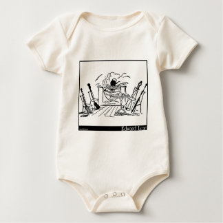 The Broom, the Shovel, the Poker and the Tongs Baby Bodysuit