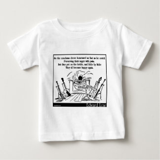 The Broom, the Shovel, the Poker and Tongs Baby T-Shirt