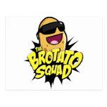 The Brotato Squad Symbol! Postcard
