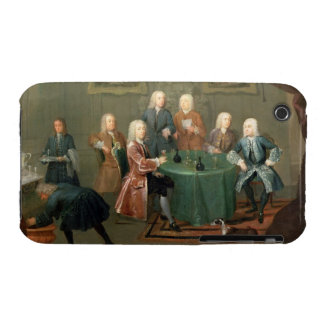 The Brothers Clarke with Other Gentlemen Taking Wi iPhone 3 Case-Mate Case
