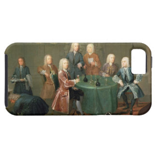 The Brothers Clarke with Other Gentlemen Taking Wi iPhone SE/5/5s Case