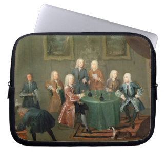 The Brothers Clarke with Other Gentlemen Taking Wi Laptop Sleeve